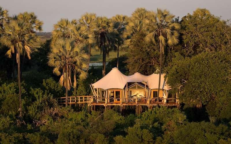 Kwetsani Camp, Okavango Delta in Botswana
