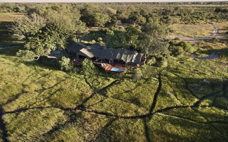 Duba Plains Suite, Okavango Delta in Botswana