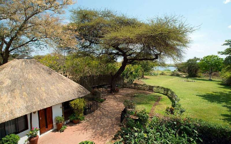 Garden Lodge on the Chobe River
