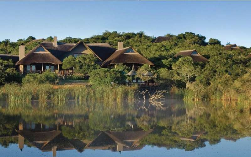 Arial View of Kichaka Game Lodge