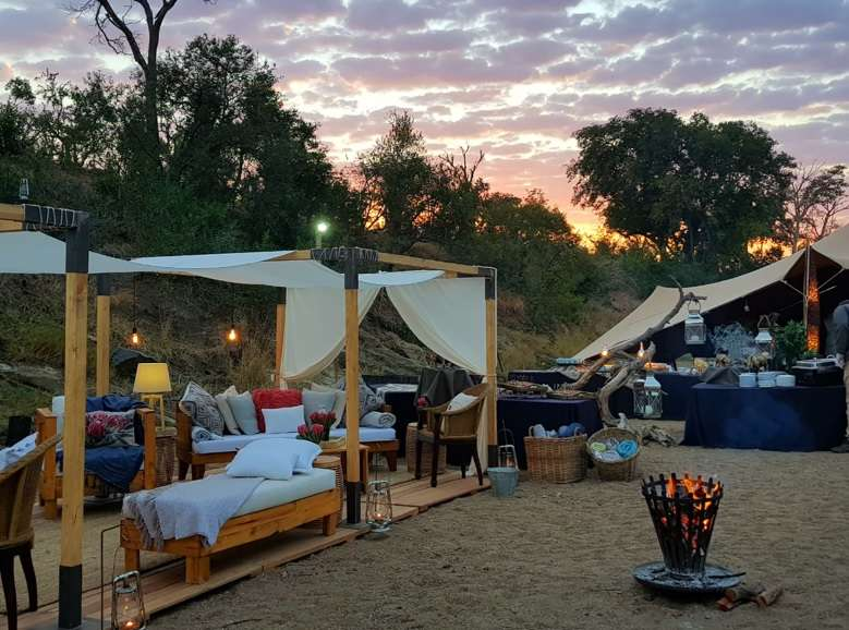Kruger Grande, Chiefs Tented Camp