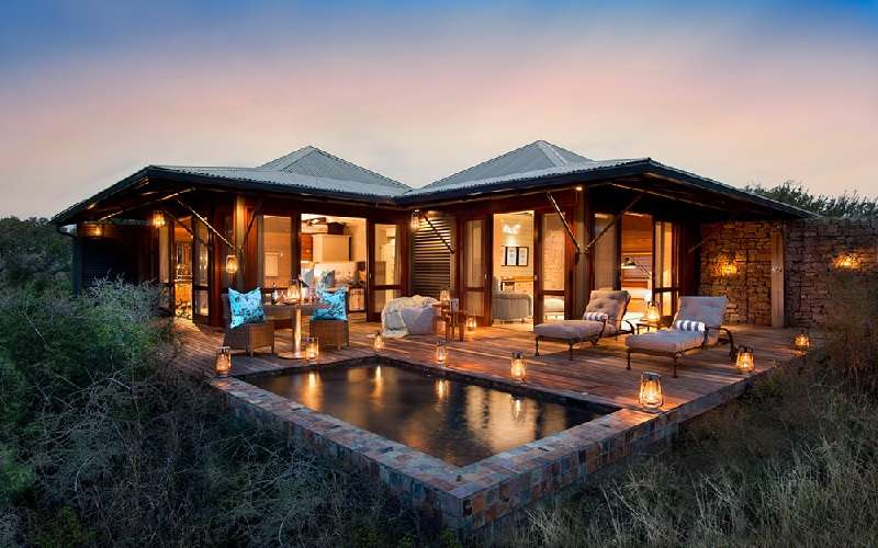 Ecca Lodge, Kwandwe Private Game Reserve / South Africa