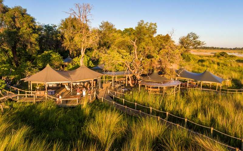 Little Vumbura Camp, Okavango Delta in Botswana