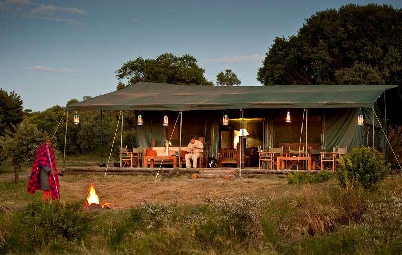 Porini Rhino Camp, Ol Pejeta Conservancy, Laikipia