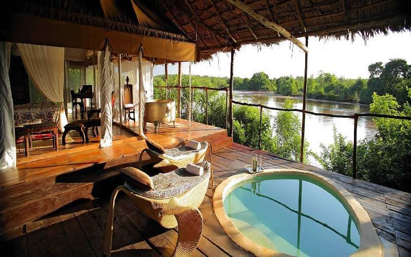 The Retreat Selous Pool Bar